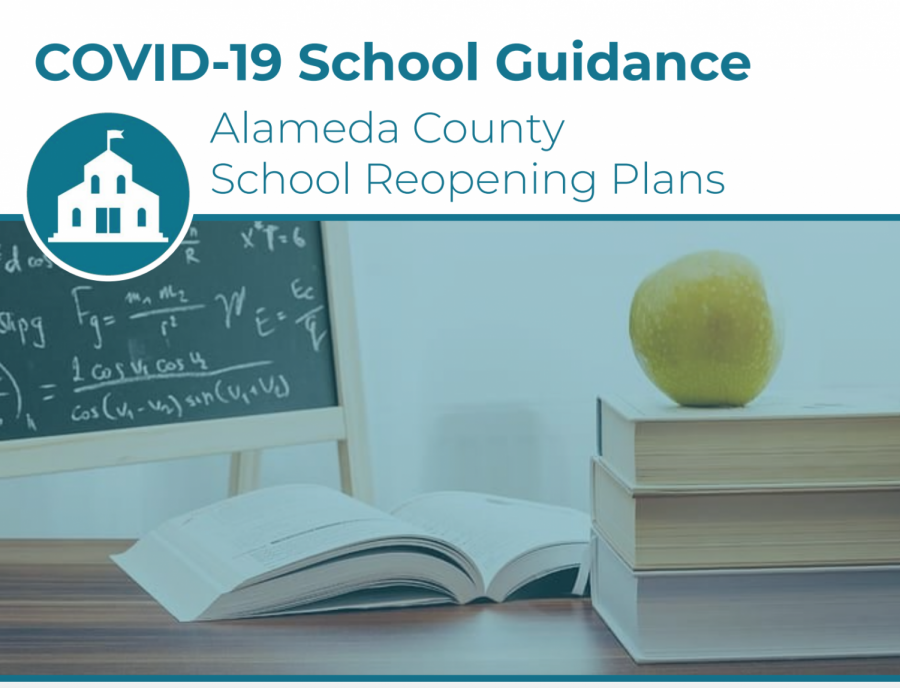 Alameda County released a handbook detailing guidelines and suggestions for reopening schools