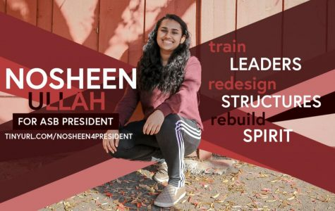 A Conversation With: Nosheen Ullah, ASG Presidential Candidate