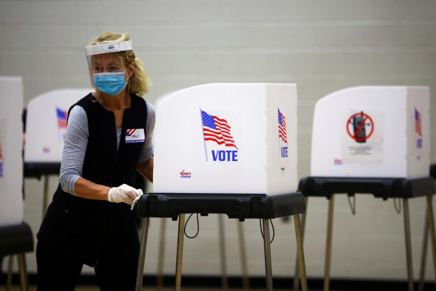 For+this+year%E2%80%99s+election%2C+poll+workers+worked+harder+than+usual+to+disinfect+voting+booths+across+the+country%2C+so+that+Americans+could+safely+cast+their+vote.