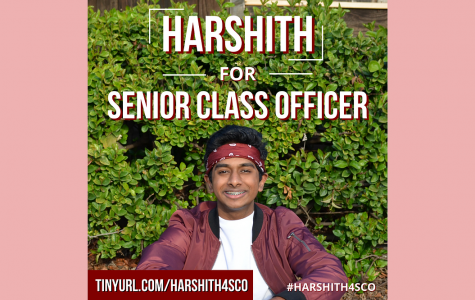 Candidate Harshith Yallampalli