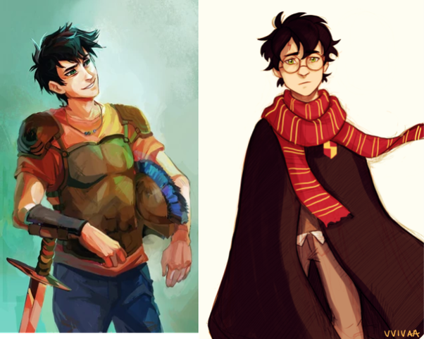 Both Percy Jackson and Harry Potter are famous for their magical worlds and series that leave readers clinging for more.