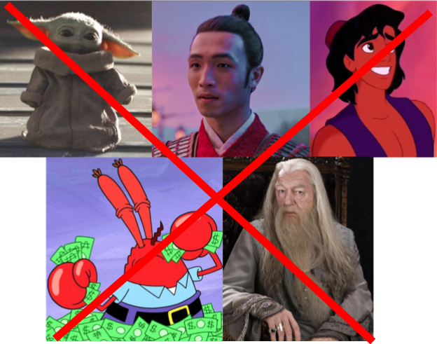 Popular Characters that are #Canceled.