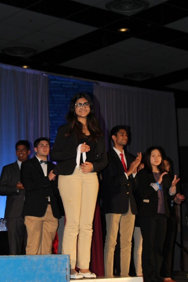Irvington DECA's Diamond Consulting Destroys Expectations