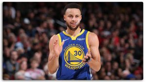 My pick for MVP, Steph Curry.