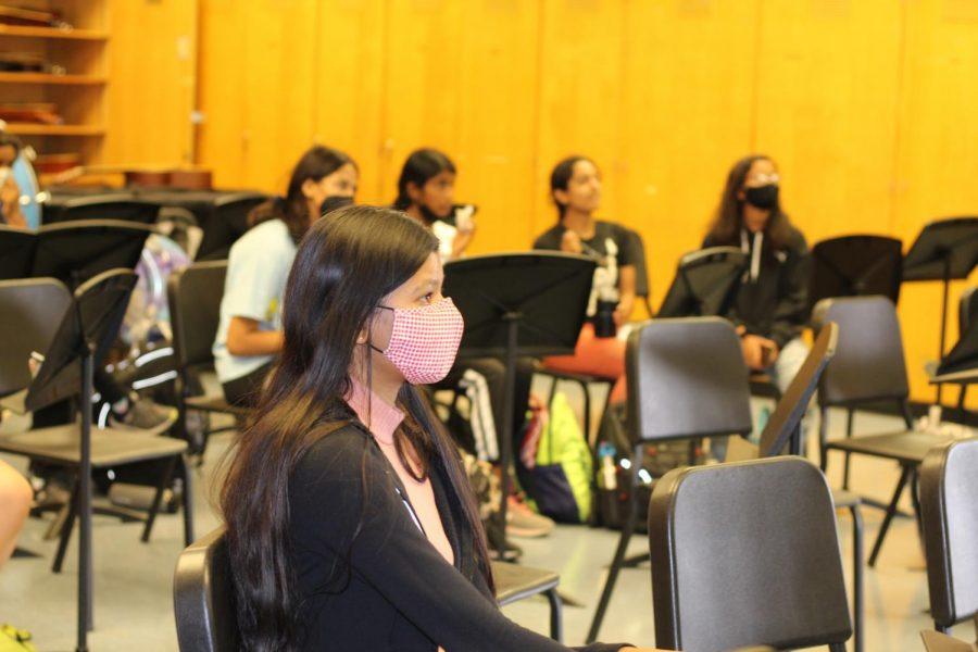 Amrita Khokhar (11) attends Irvington BAStA's intro meeting on Sept. 20th, 2021.