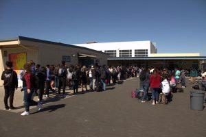 Lengthy Lunch Lines Plague Irvington