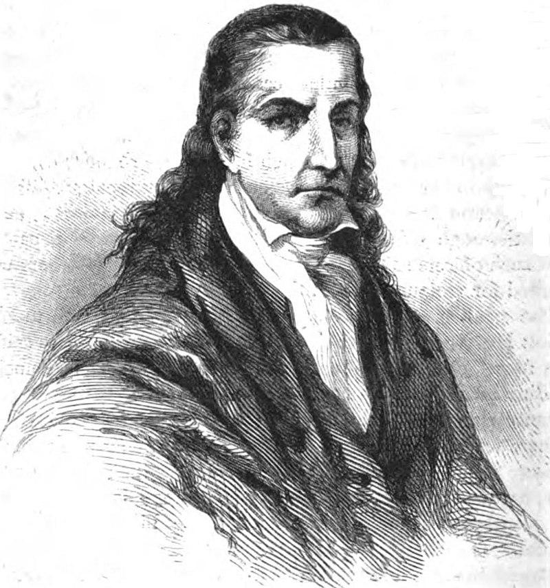 A portrait of eccentric Paraguayan dictator Jose Gaspar Rodriguez de Francia.